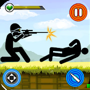 Stickman Shooting: Free offline 2D shooting games