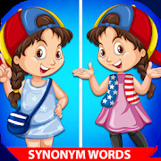 Learn Synonym Words for kids - Similar words
