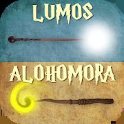 Magic Wand & Spells - Lumos Maxima, Alohomora, etc