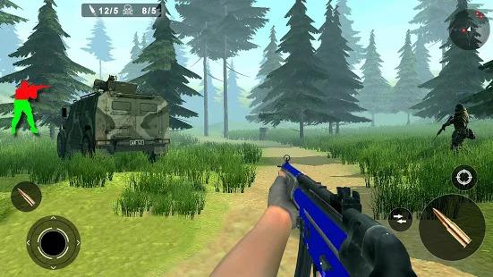 Jungle Counter Attack: US Army Commando Strike FPS Screenshot