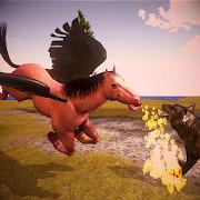 Flying Horse Simulator - New Unicorn Pegasus Sim