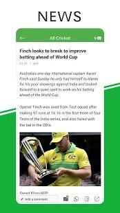 All Cricket  - Latest News & Live Scores Screenshot