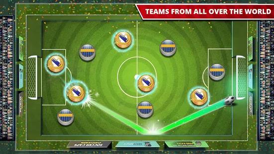 World Cup Soccer Games Caps 2018 Screenshot