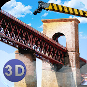 Bridge Construction Crane Sim