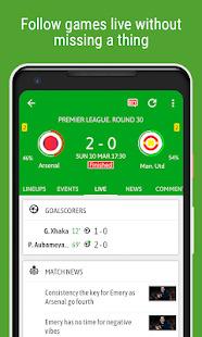 BeSoccer - Soccer Live Score Screenshot