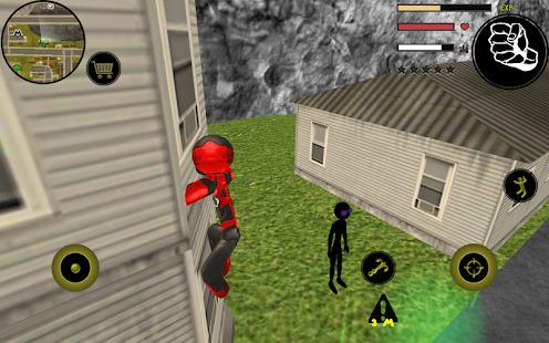 Stickman Rope Hero Screenshot