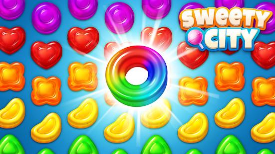 Sweety City - Match 3 Mania In World Screenshot