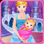 Cinderella gives birth games
