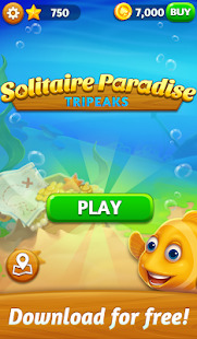 Solitaire Paradise: Tripeaks Screenshot