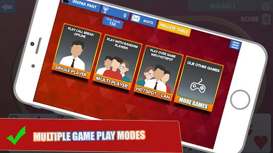 Call Break Card Game - Callbreak 2020 Screenshot