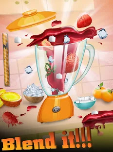 Candy Mania Fair Food Maker Cooking Games Free Screenshot