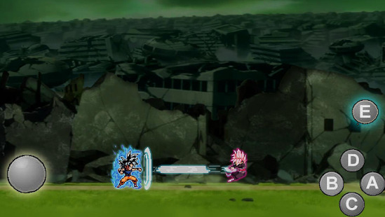 Ultra  saiyan Anime Fantastic: Tourney of Warriors Screenshot