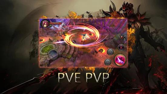 Dragons War Legends - Raid shadow dungeons Screenshot