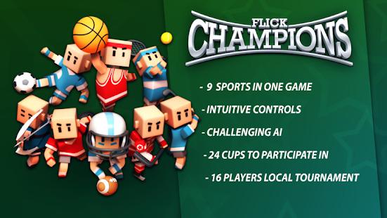 Flick Champions Classic Screenshot