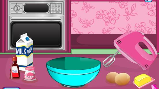 cooking games cakes cupcakes Screenshot