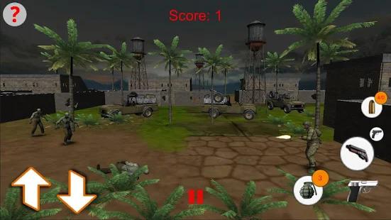 shooting kill zombies game Screenshot