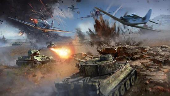 Real World War Tanks: Army Battle Machines Screenshot