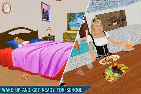 Virtual Girl Life: New High School Girl Sim Screenshot