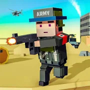 Blocky Army Base:Modern War Critical Action Strike