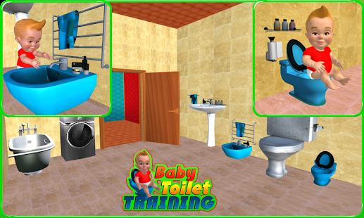 Games lol | Game » Baby Toilet Training Simulator