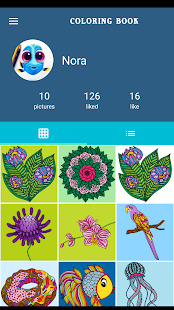Coloring Book For Adults - Mandala Coloring Screenshot