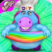 Mr. Fat Unicorn Slime Maker Game! DIY Squishy Toy