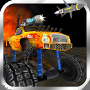 Crazy Monster Truck Fighter - Endless Truck Runner