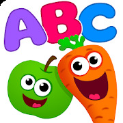 Funny Food ABC games for toddlers and babies