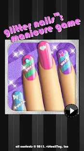 Glitter Nail Salon: Girls Game by Dress Up Star Screenshot