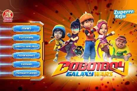 Zuperrr Keju Boboiboy Galaxy Screenshot
