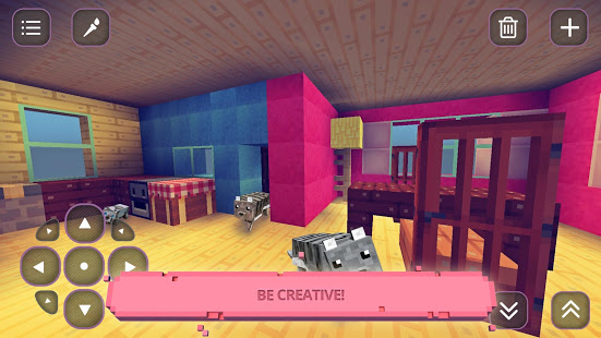 Games lol   Game » Cute Craft : Girls Crafting & Building