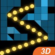 3D Bricks Balls Breaker - Puzzle Crusher