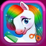 Pretty Pet Pony Salon and Dress up Games