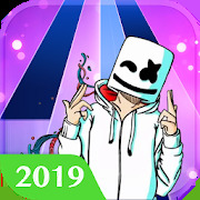 Piano Tiles: Marshmello Music Dance