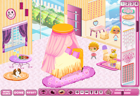 Girl Doll House - Room Design And Decoration Games Screenshot