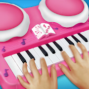 Real Pink Piano For Girls - Piano Simulator