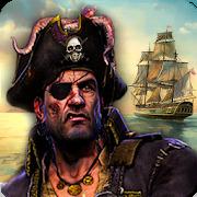 Caribbean Sea Pirate War 3D Outlaw Pirate Ship Sim