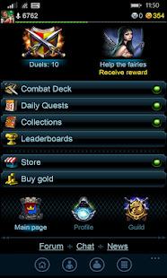 Masters of ElementsCCG game + online arena & RPG Screenshot