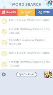 Word Search Puzzles Screenshot