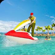 Beach Lifeguard Rescue Squad: Motor Boat Driving