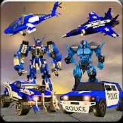 US Police Robot War Multi Robot Transformation