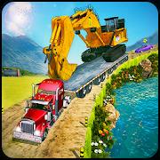 Construction Trucks & Heavy Excavator Transporter