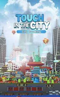 City Growing-Touch in the City Clicker Games Screenshot