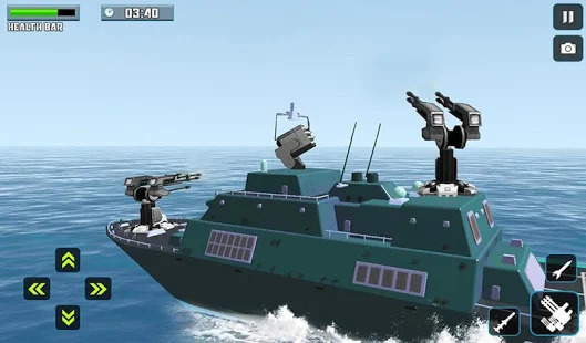 US Army Ship Battle Simulator Screenshot