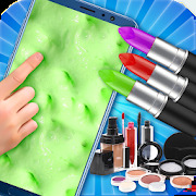 DIY Makeup Slime Maker! Super Slime Simulations