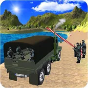 Real Drive Army Check Post Truck Transporter