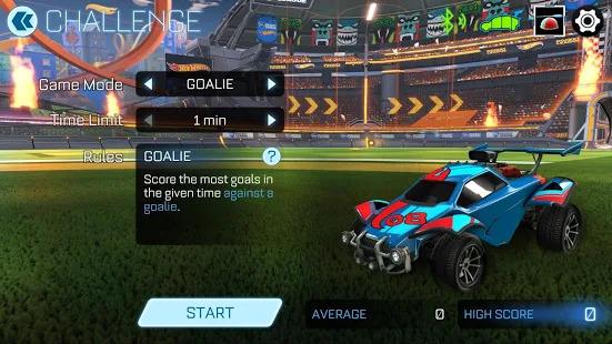 Rocket League Hot Wheels RC Rivals Set Screenshot