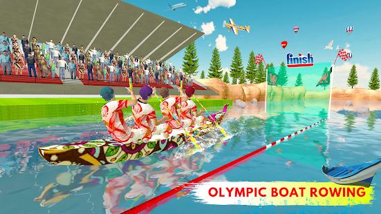 Olympic Boat Rowing : Boat Racing Simulator Screenshot
