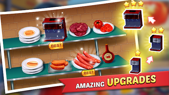 Kitchen Craze: Cooking Games for Free & Food Games Screenshot