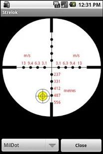Strelok. Ballistic calculator Screenshot